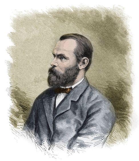 Der Kapitän: Carl Christian Koldewey (1837 bis 1908)