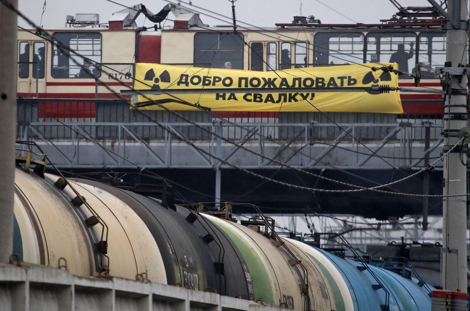 Deutscher Atommüll in Russland