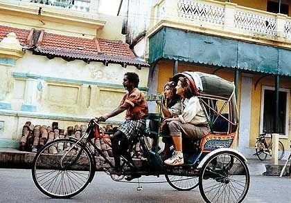 Unterwegs mit der Fahrradrikscha: Deutsche Touristen erleben Indien vor allem per Rundreise
