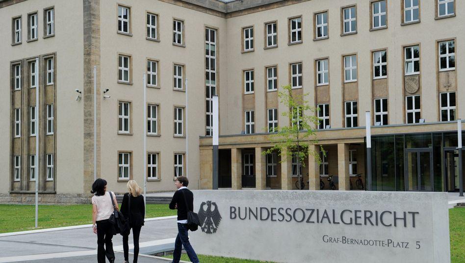 Bundessozialgericht in Kassel: Klare Vorgabe des Gesetzes