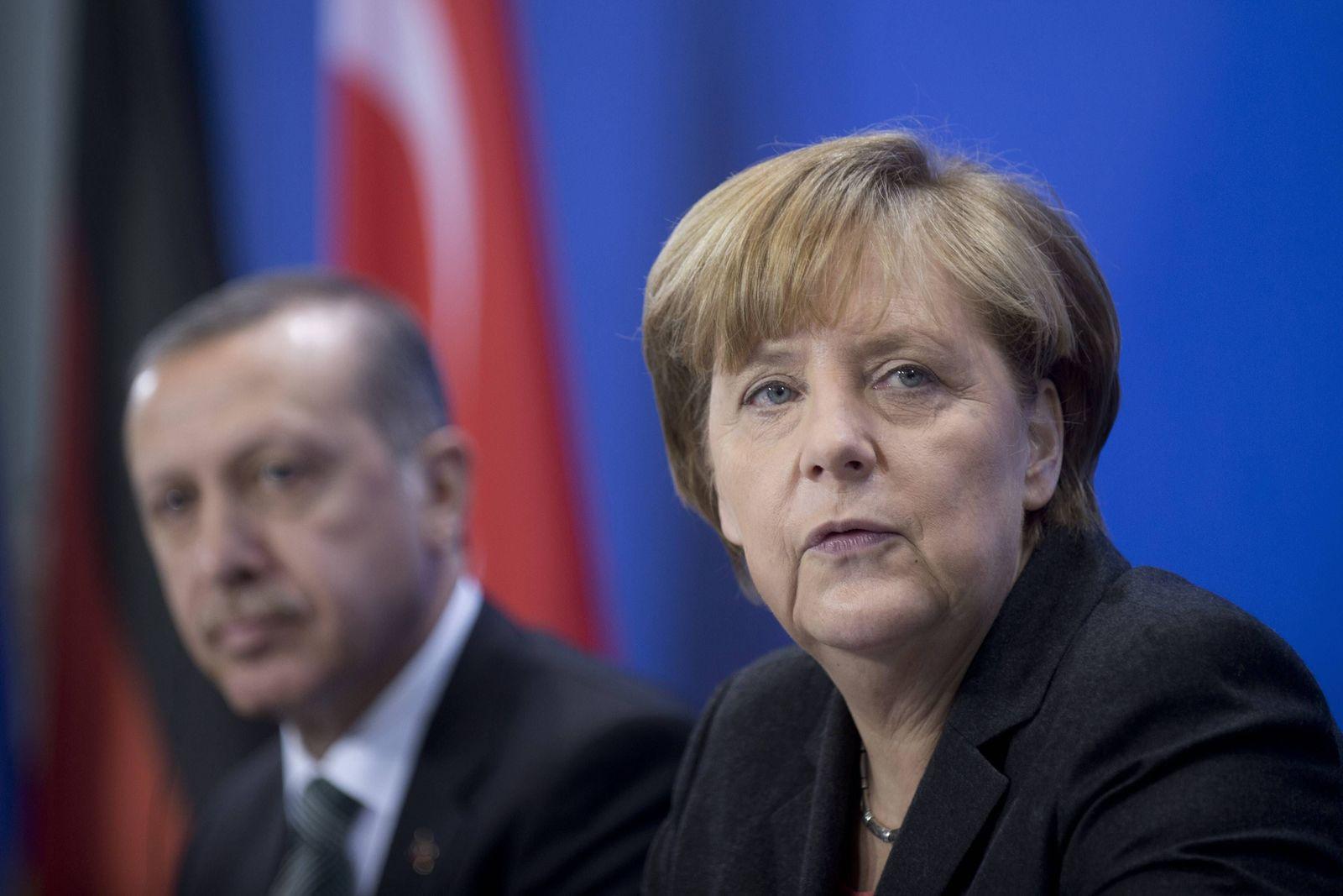 EINMALIGE VERWENDUNG Merkel / Erdogan