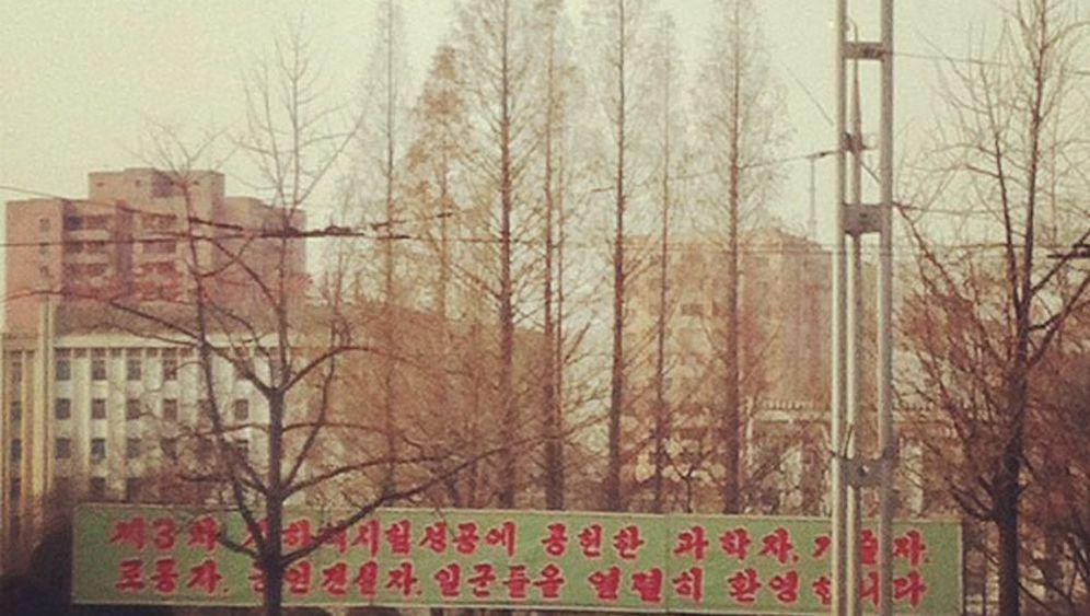 Tweets aus Nordkorea: Das sind die ersten Handy-Fotos aus Pjöngjang