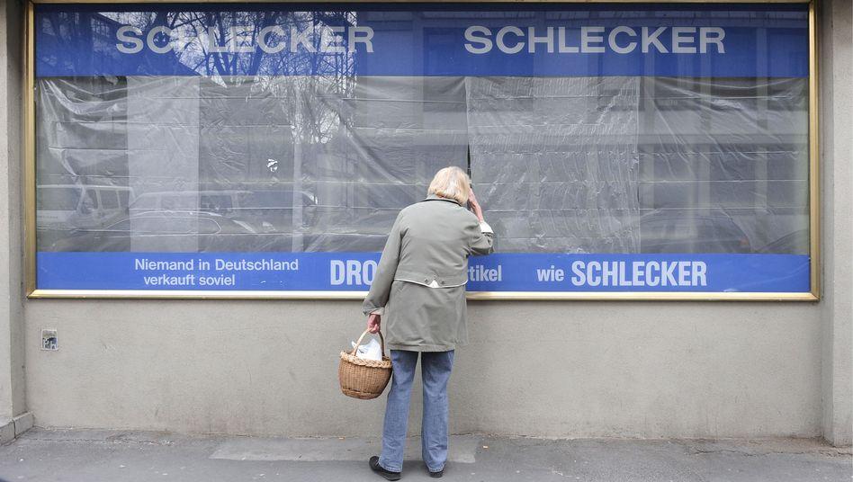 Geschlossene Schlecker-Filiale in Mainz: Tochter in Tschechien ist verkauft