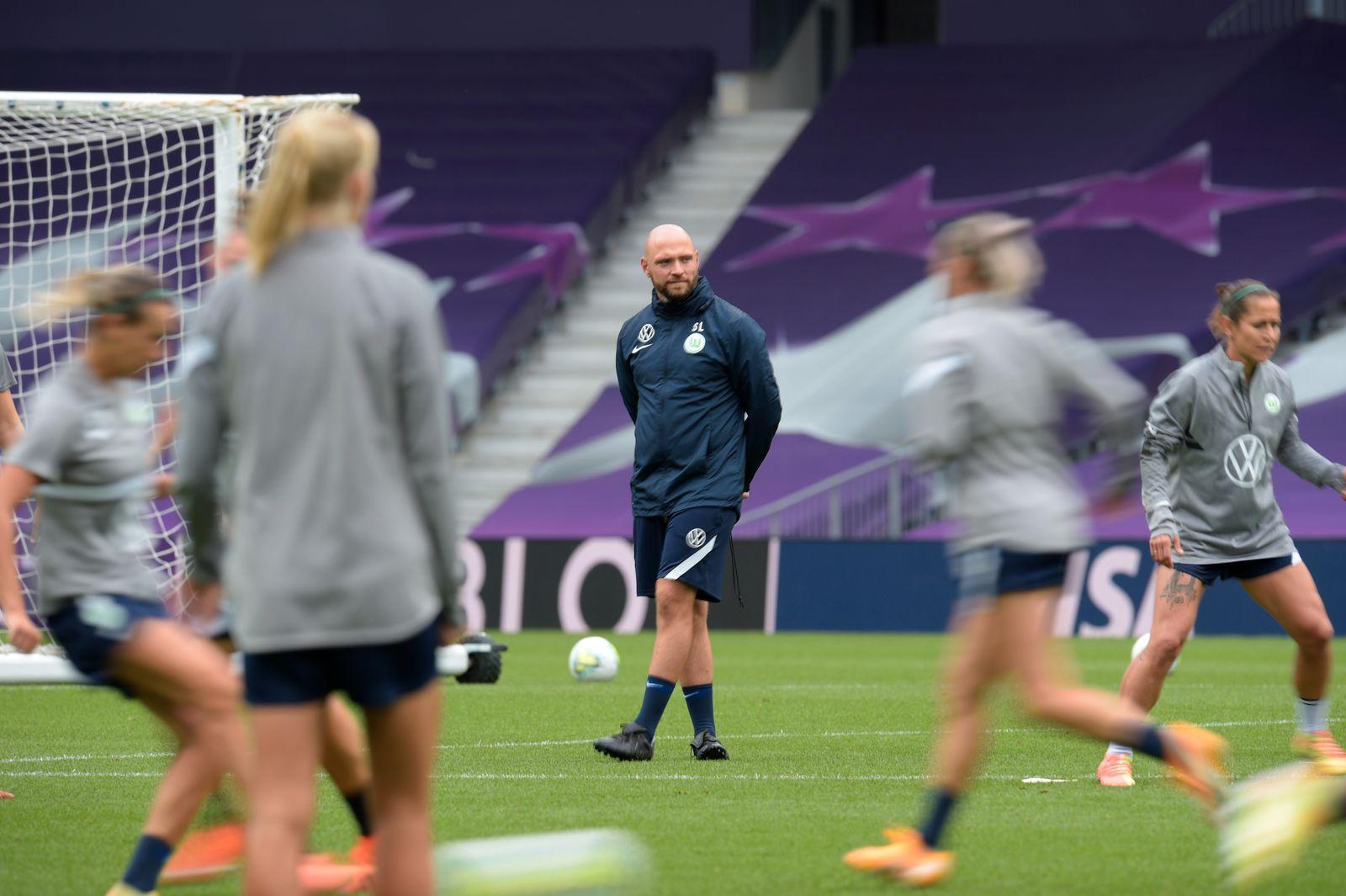 VfL Wolfsburg Women's Training Session - UEFA Champions League