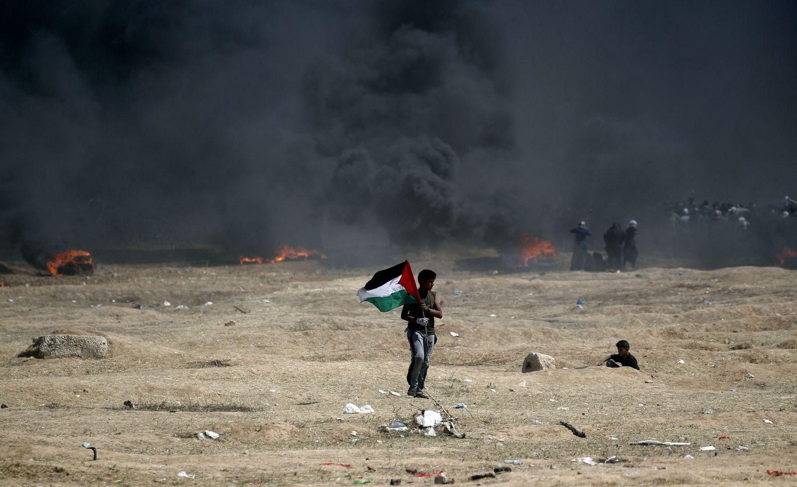 Grenze Israel gaza