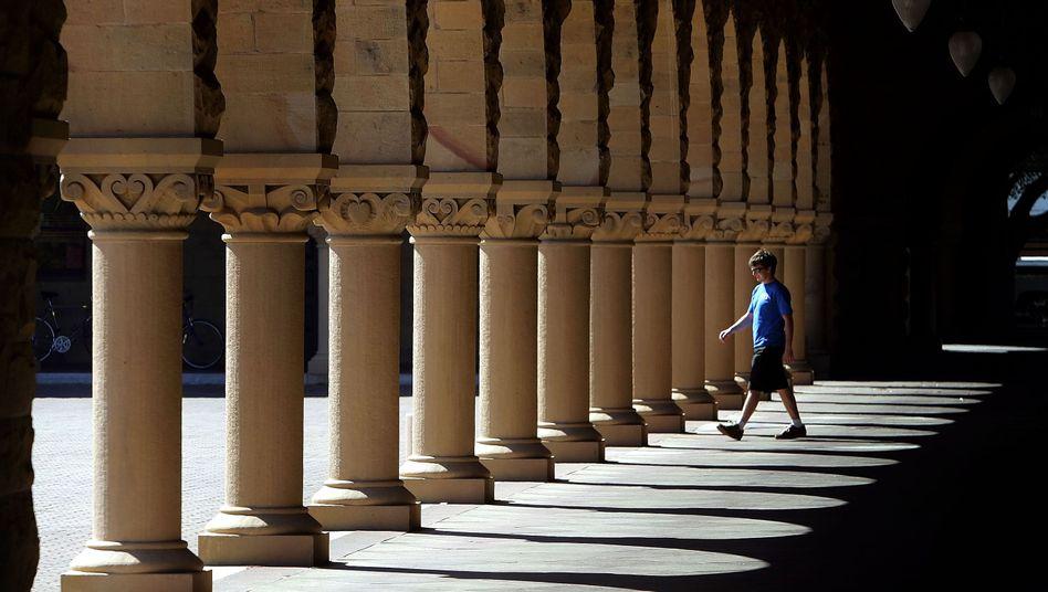 Durchgekommen: Auch die Elite-Universität Stanford wollen die Hacker angegriffen haben