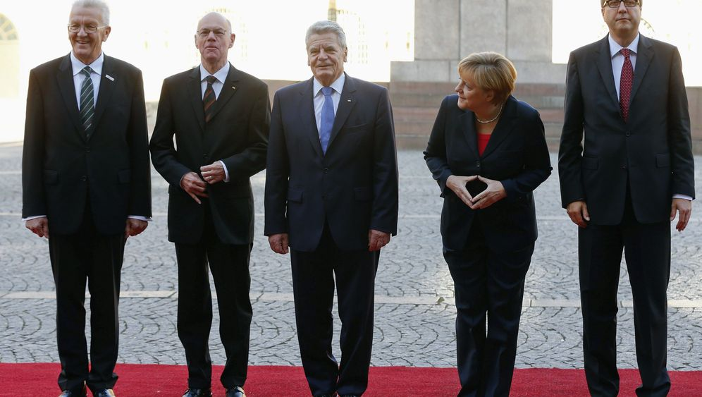 Einheitsfeier: Gaucks Auftritt in Stuttgart