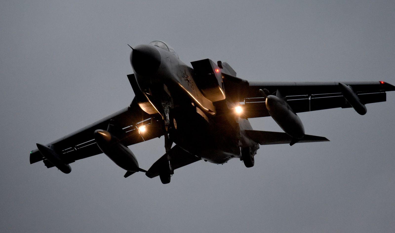 Tornado des Taktischen Luftwaffengeschwaders 51 in Jagel