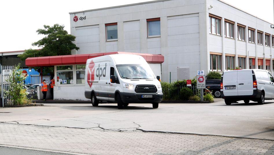 Paketsortierzentrum in Duisburg: 400 Mitarbeiter wurden getestet