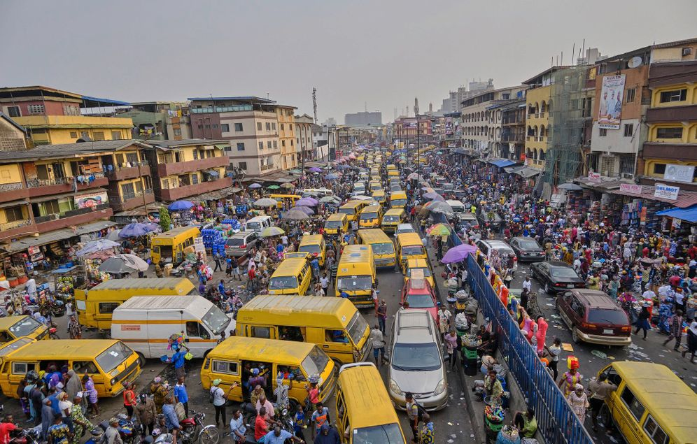 Unending traffic jams, incessant noise and a population of over 20 million people: Lagos is a city on the brink of insanity.