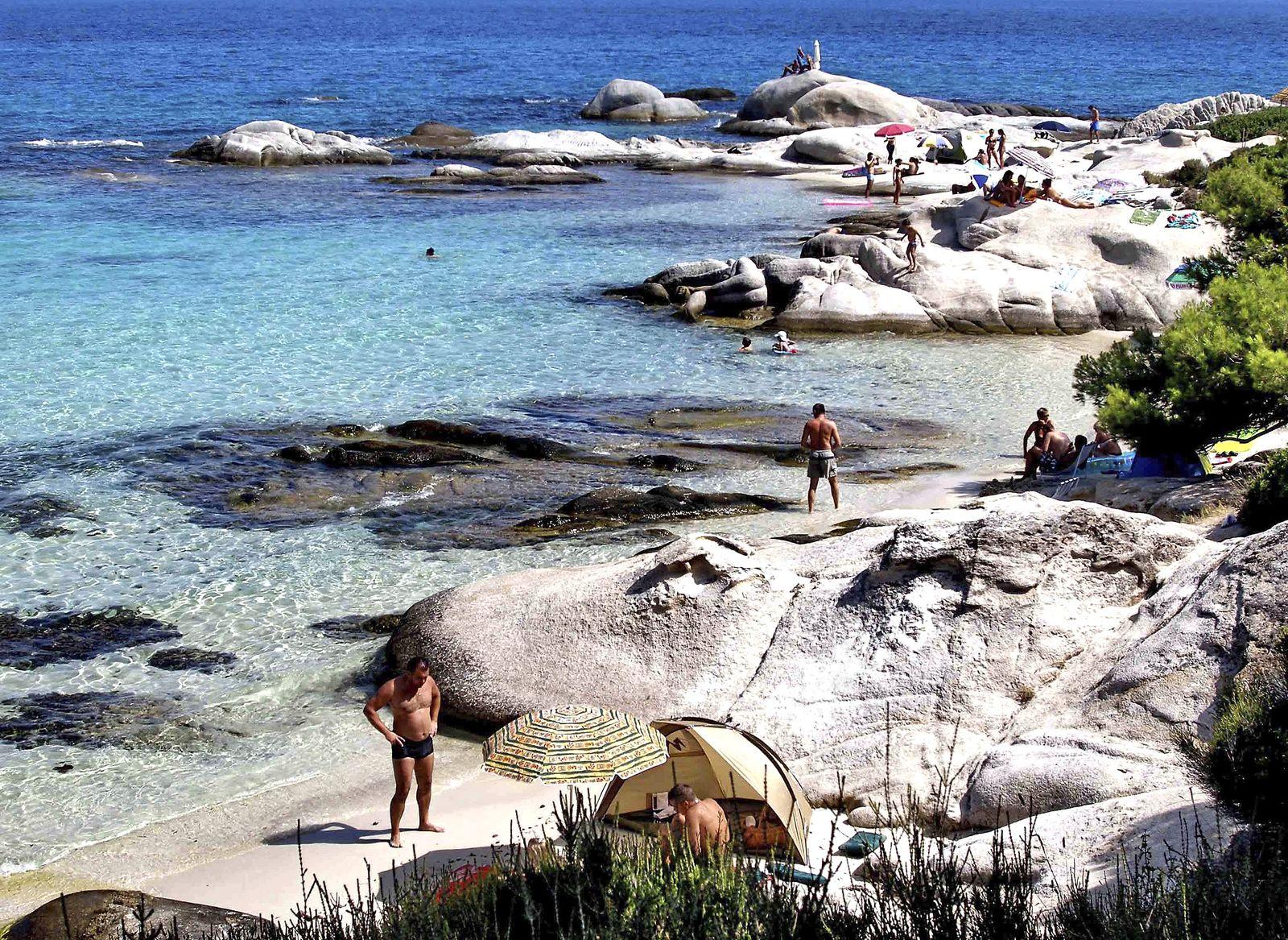 Griechenland Tourismus / Strand