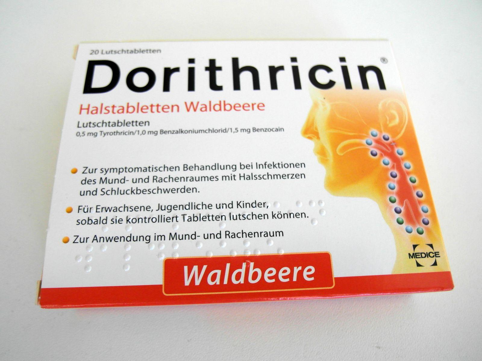 Pillen-Check/ Dorithricin