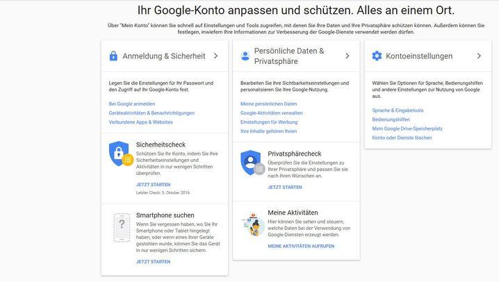 Zwei-Faktor-Authentifizierung: So geht es bei Google