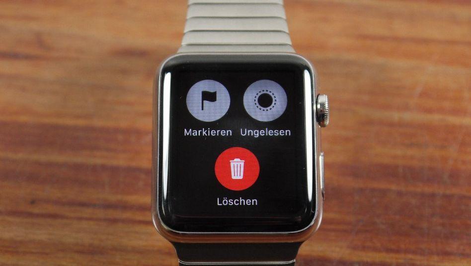 E-Mail-Optionen auf der Apple Watch: Nicht totzukriegen