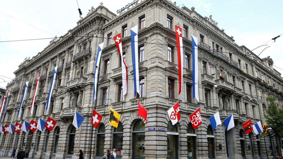 Credit-Suisse-Stammhaus am Paradeplatz in Zürich