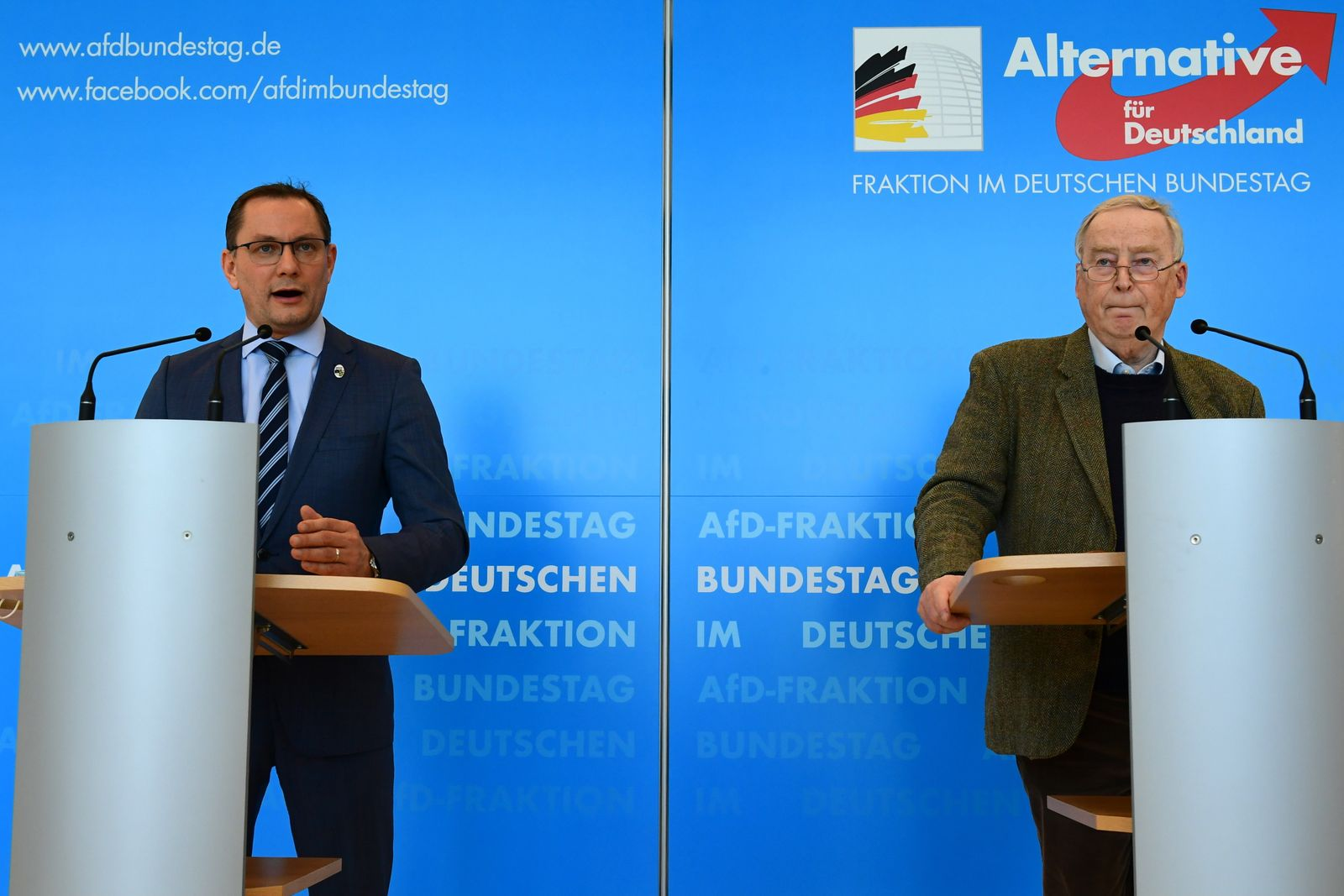 Press statement Alternative for Germany faction