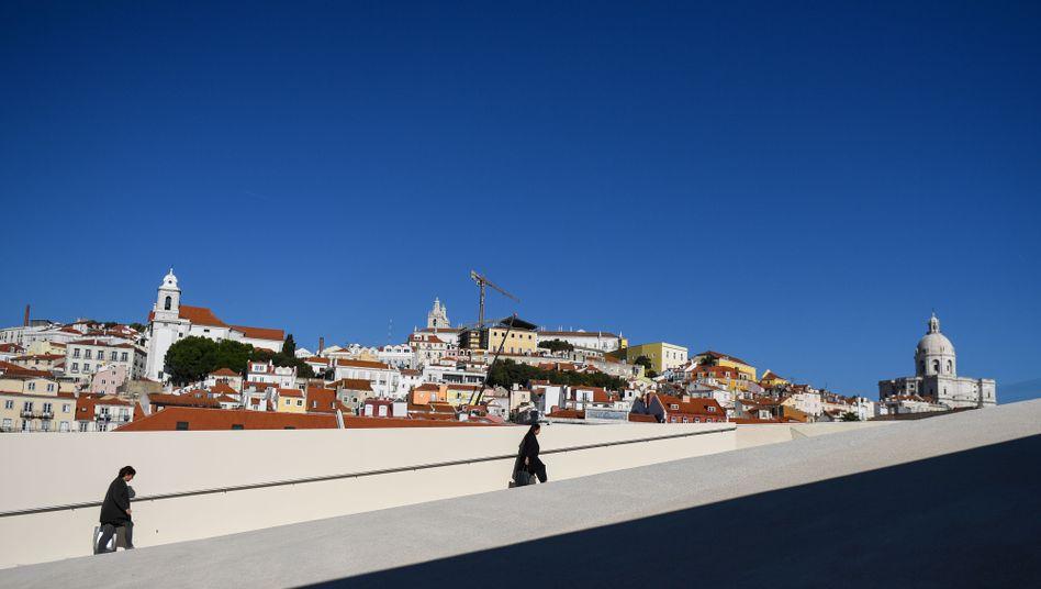 Kreuzfahrtterminal in Lissabon