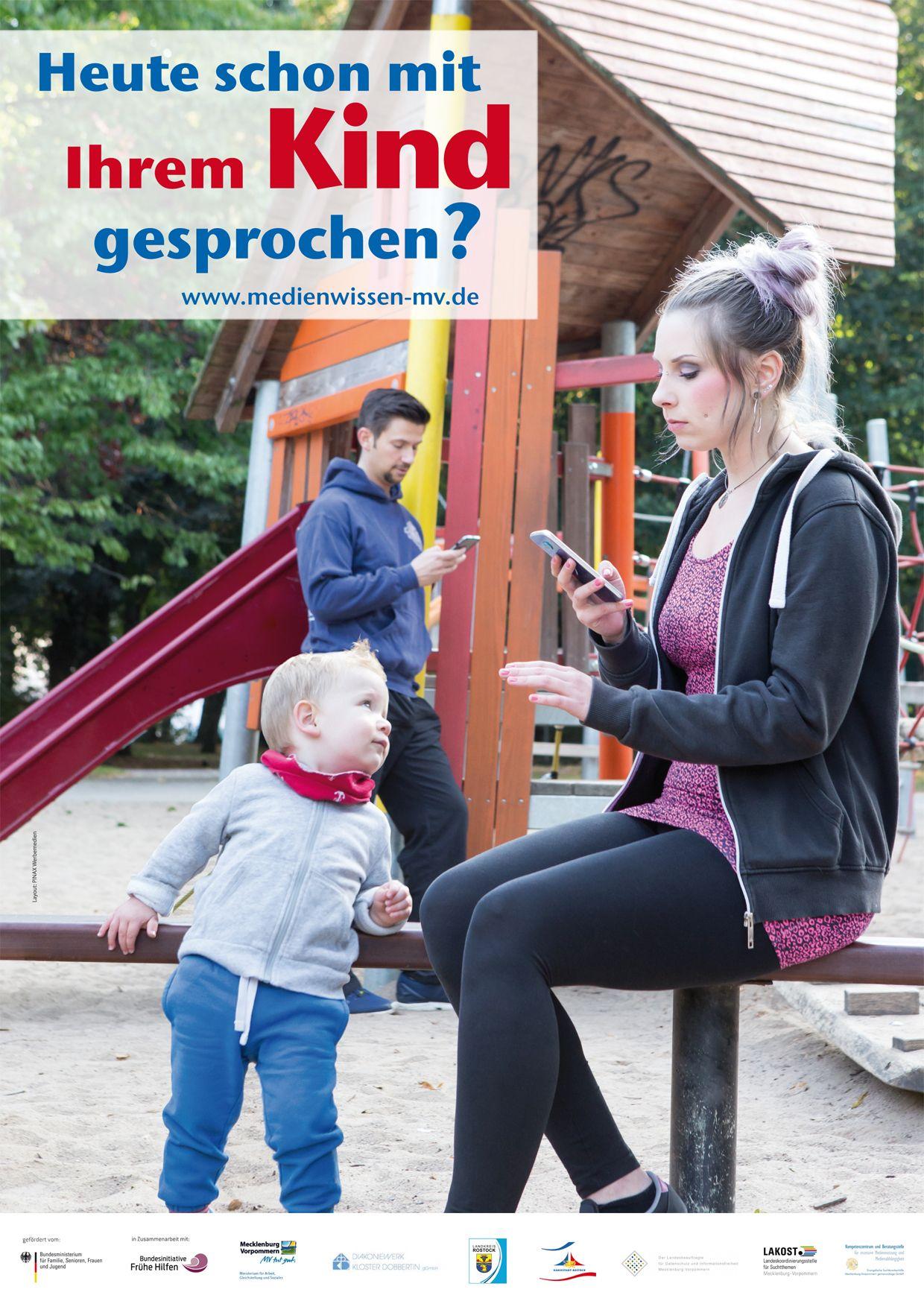 EINMALIGE VERWENDUNG Plakate / Medien-Familie-Verantwortung