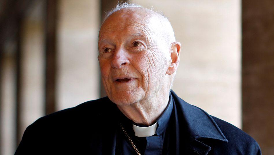 """Ex-Kardinal Theodore Edgar McCarrick: """"Inkorrekte und unvollständige"""" Informationen"""