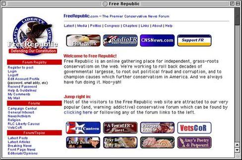 """""""Free Republic"""": Stören, manipulieren, demonstrieren für die rechte Sache"""