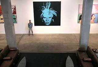 """Der Reisende"" im Andy-Warhol-Museum in Pittsburg"