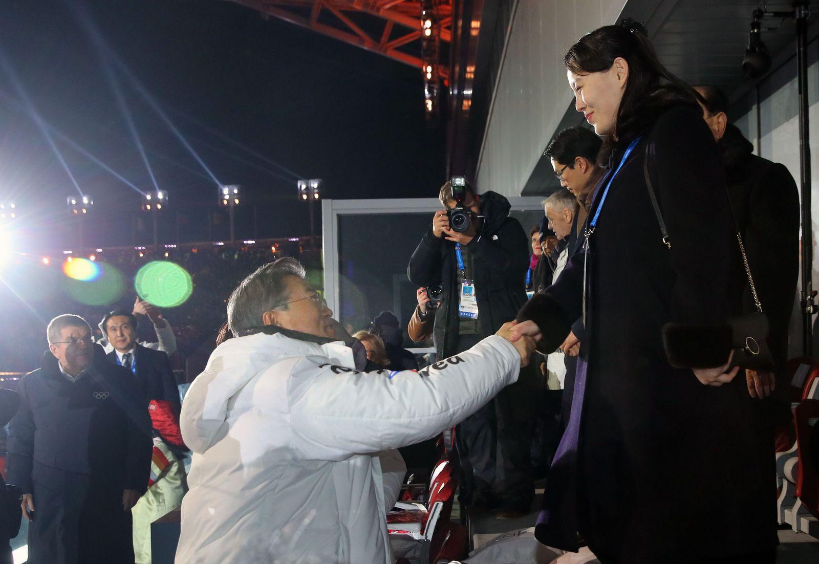 Pyeongchang / Moon Jae In / Kim Yo Jong