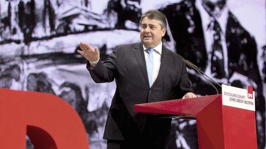 Parteivorsitzender Gabriel: »Wir müssen auch Politik für die Aldi-Verkäuferin machen«