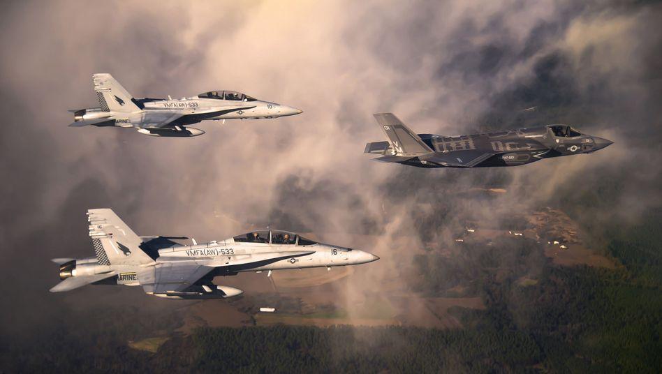 Jets des US-Militärs: Sensible Informationen durch Hacker bedroht