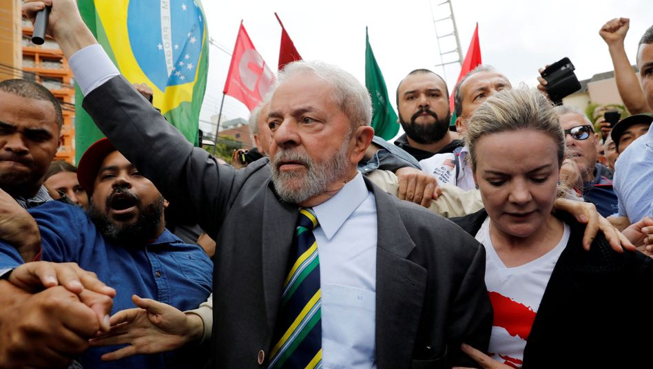 Brasiliens Ex-Präsident Luiz Inacio Lula da Silva (Archivbild)
