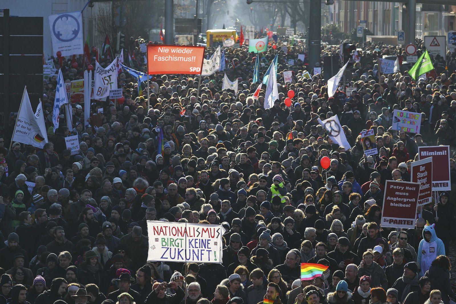 Koblenz/ Demonstration