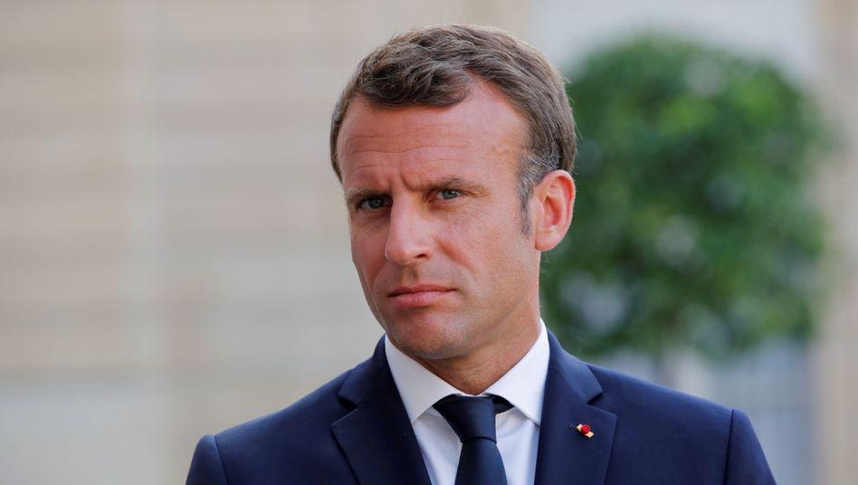 """Emmanuel Macron: """"Können die Kosten für einen harten Brexit von den USA ausgeglichen werden?"""""""