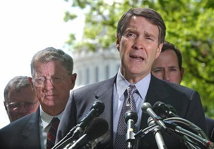 Senator Frist: Nächtlicher Trick