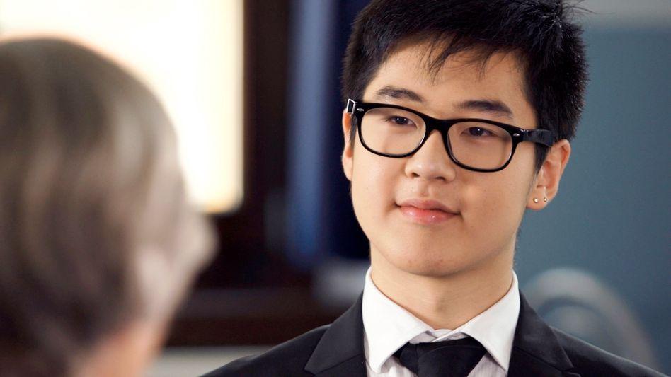 Schüler Kim: Dinge zum Besseren verändern
