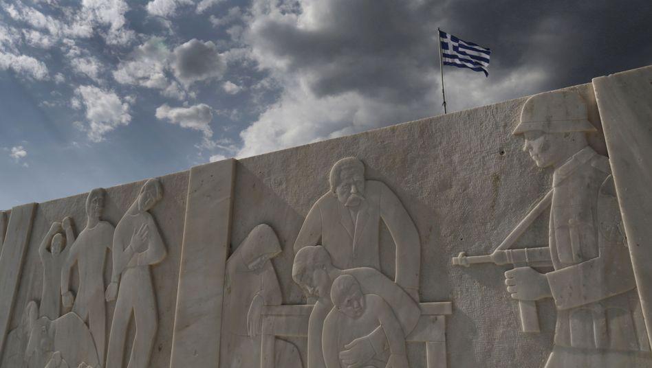 Kriegsdenkmal in Griechenland: Nationalbank musste deutsche Besatzung finanzieren