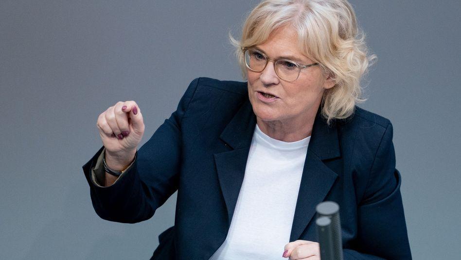 """Bundesjustizministerin Christine Lambrecht: """"Ich halte es für machbar"""""""