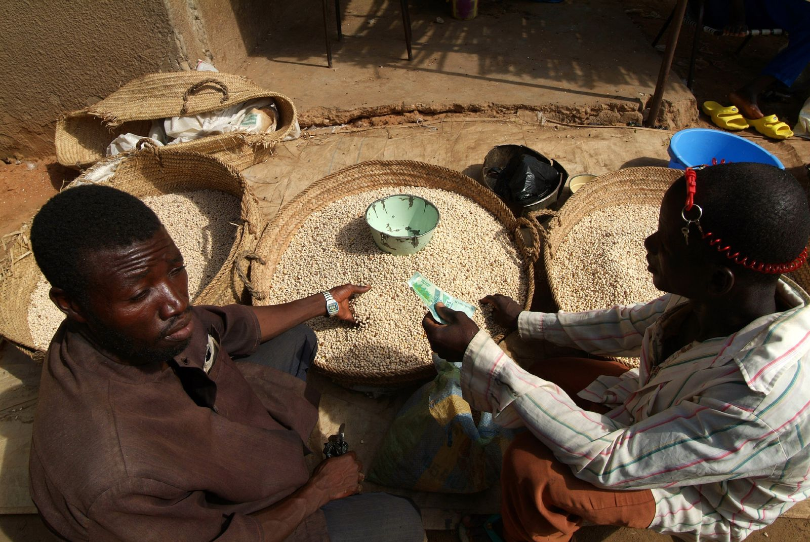 NICHT MEHR VERWENDEN! - Entwicklungshilfe / Sahelzone / Hunger / Nigeria