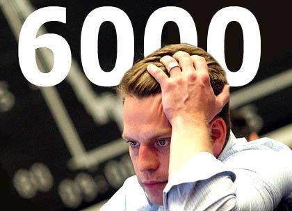 Börsenhändler, 6000er-Dax-Symbol: Milliardenverluste in Bilanzen vermutet