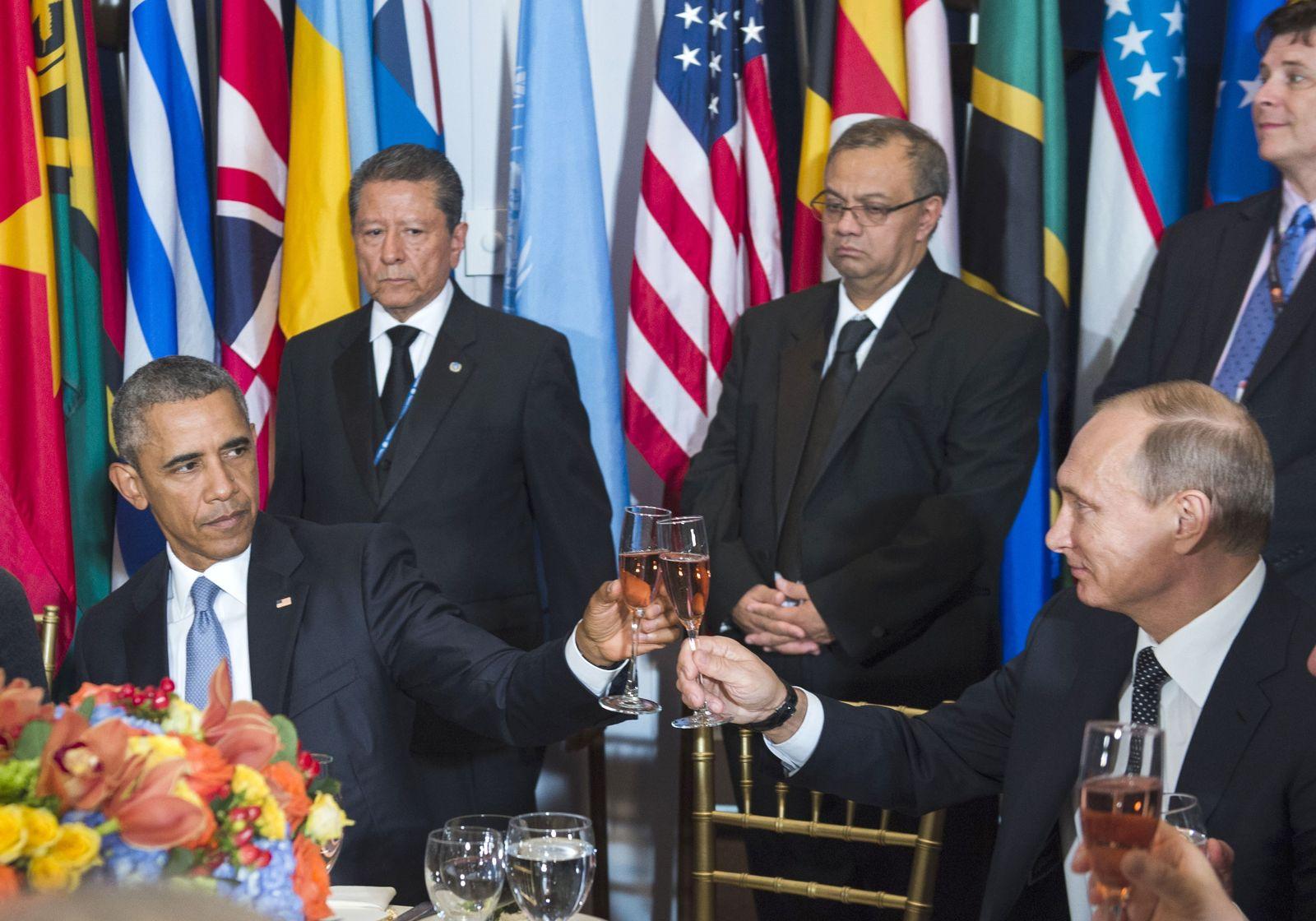 Barack Obama / Wladimir Putin / Uno