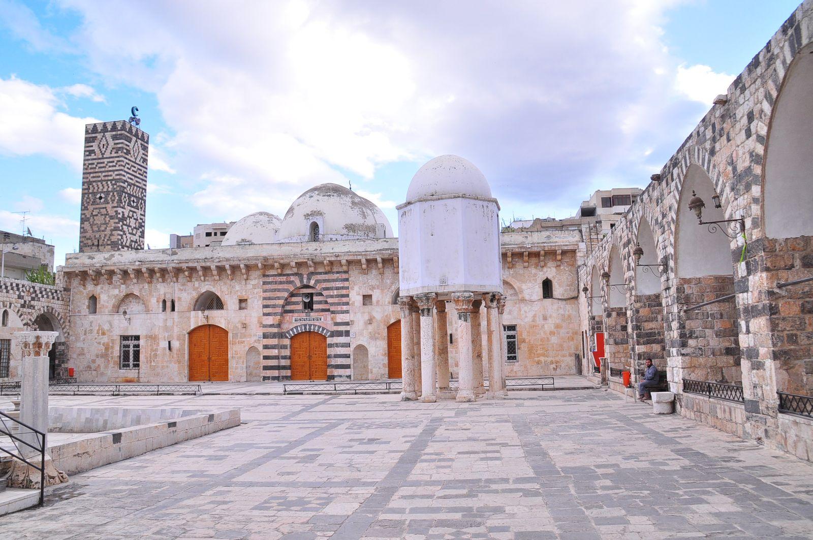EINMALIGE VERWENDUNG Hama / Grosse Moschee