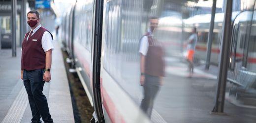 Maskenpflicht gegen Corona bei der Deutschen Bahn: Grüne für schärfere Kontrollen in Fernzügen