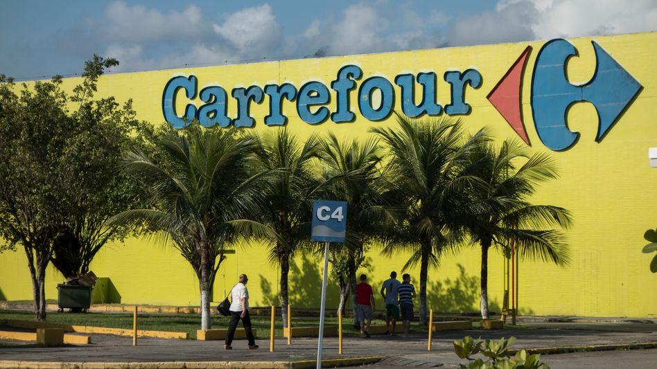 Die brasilianische Tochterfirma der französischen SupermarktketteCarrefourbat für das Verhalten um Entschuldigung