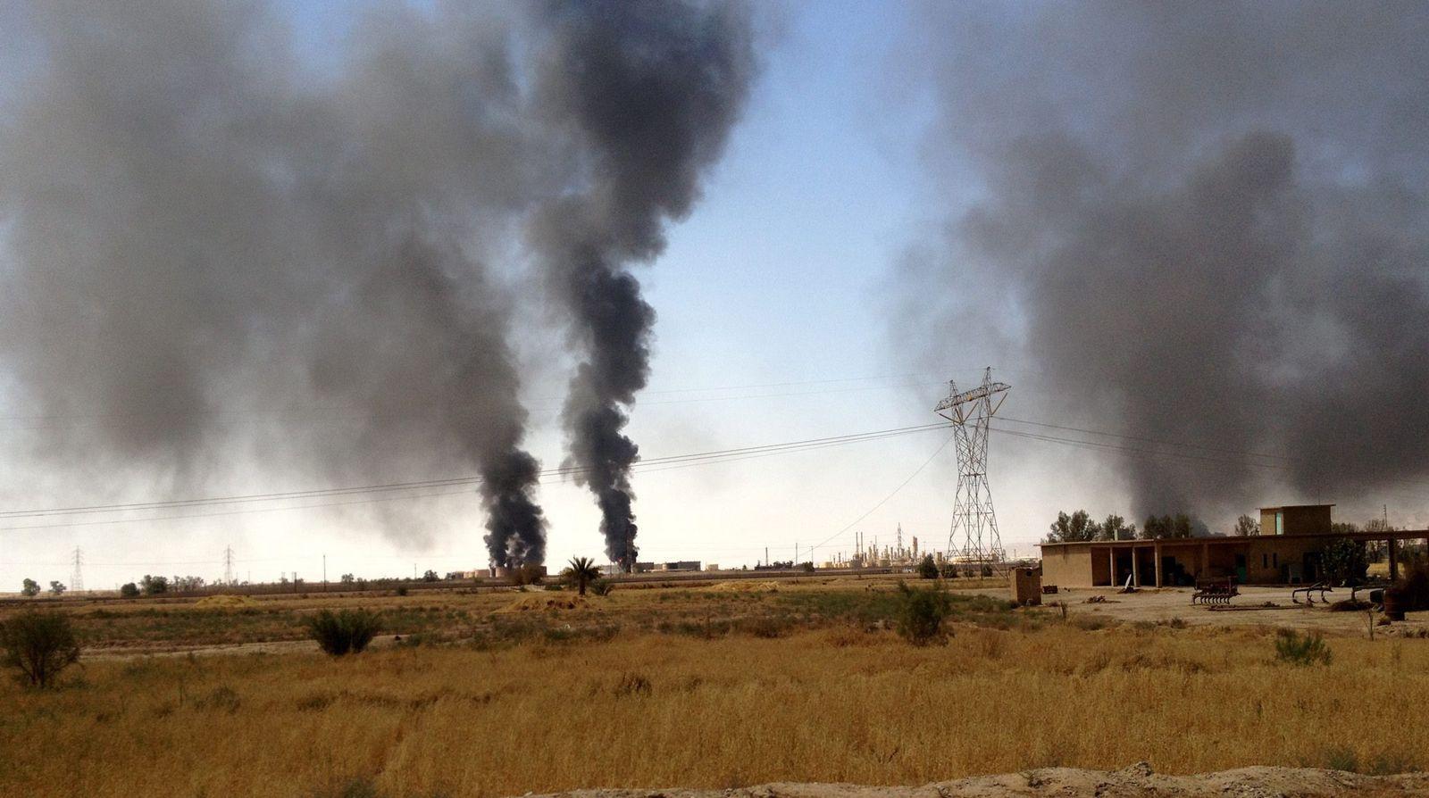 Irak/ IS/ Ölraffinerie
