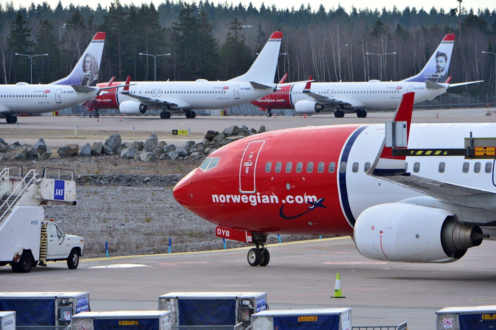 Fluglinie Norwegian