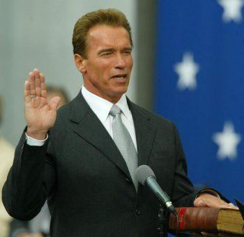 Governor Schwarzenegger: Oath of office in German?