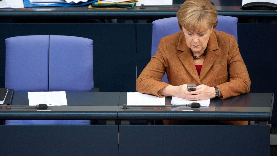 Kanzler-Handy im US-Visier?: Merkel beschwert sich bei Obama