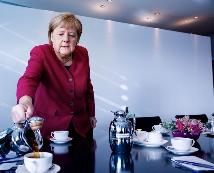 """Fundamentally, I wish West German politicians had displayed more curiosity and interest,"" Merkel says."