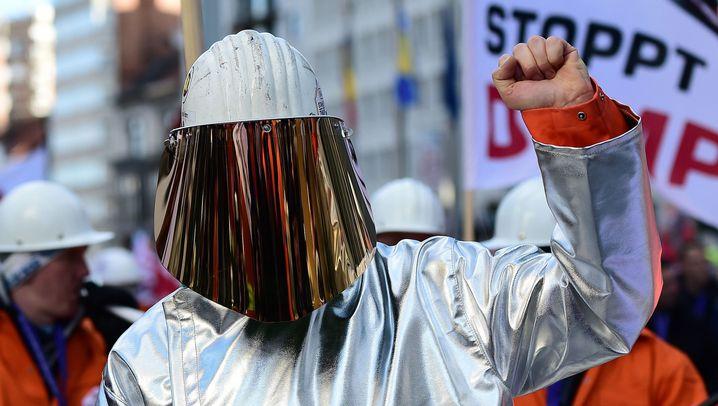 SOS in Brüssel: Stahlkampf gegen China
