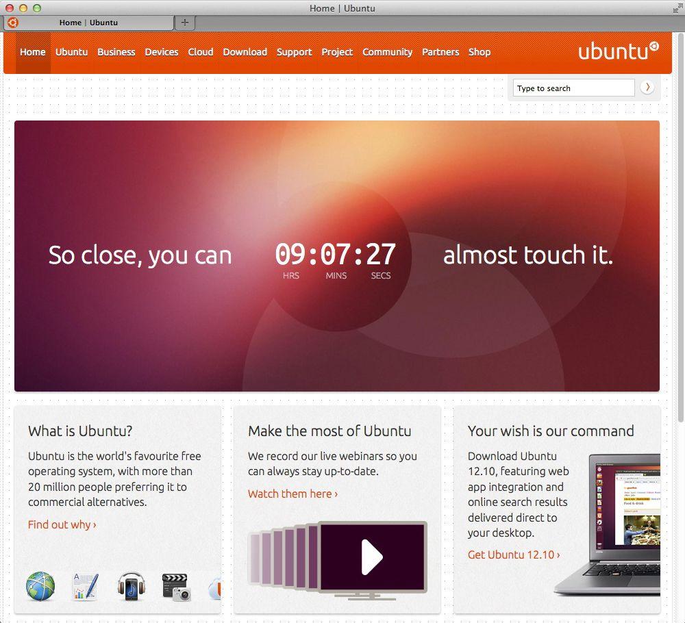 NUR ALS ZITAT Screenshot Ubuntu