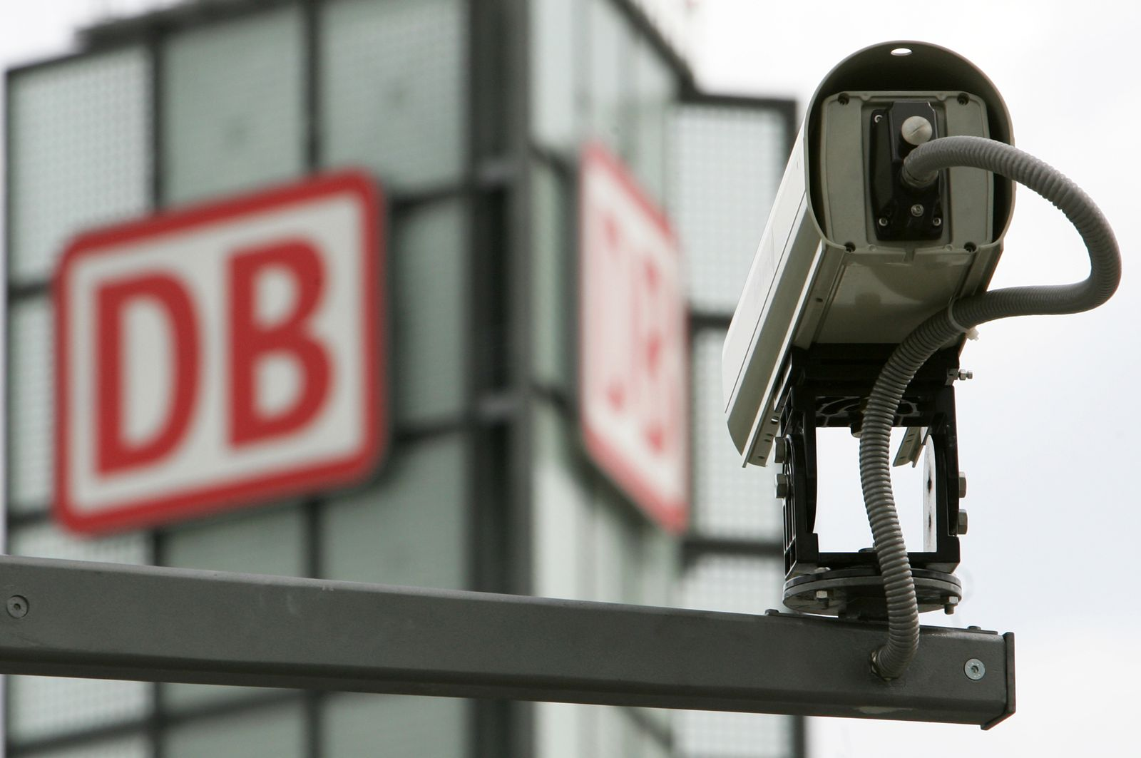 Überwachungskamera/ Hauptbahnhof Berlin