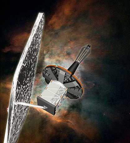 Lockheed-Martin-Satellit (Zeichnung): Auch Italiener und Briten beteiligt?